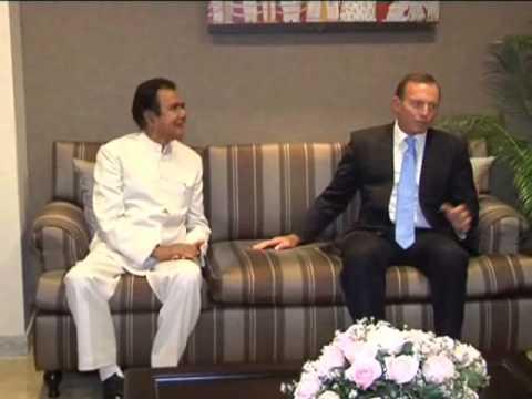 Australian Prime minister Tony Abbott visit Sri lanka