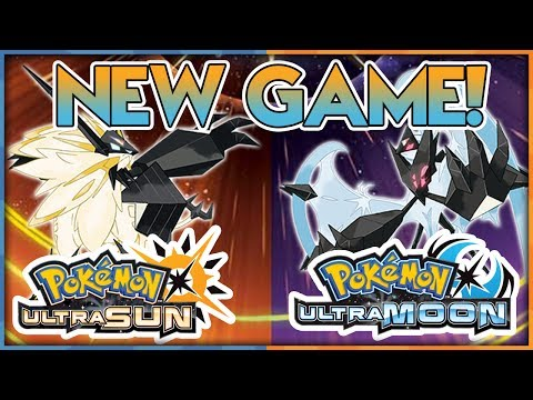 NEW POKEMON GAME! POKEMON ULTRA SUN AND POKEMON ULTRA MOON! Trailer Breakdown and Discussion!
