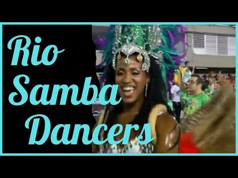 BRAZIL CARNIVAL PARADES: FILMED FROM WITHIN DANCERS SECTION
