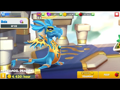 Dragon manía legends -como conseguir un dragon legendario Dragon arcángel-legendary dragon-