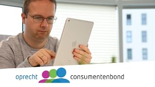Apple iPad 2017 -  Review (Consumentenbond)
