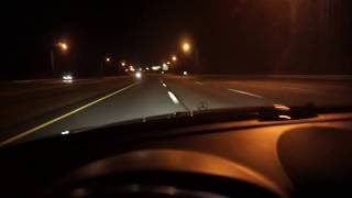 Reckless High Speed Driver Goes Almost 200MPH Thru Traffic