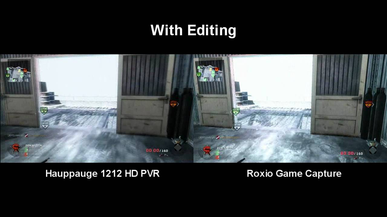 Comparison Game Game Capture Comparison