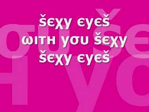 Dj Cammy - Sexy Eyes (with Lyrics) video