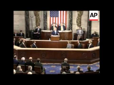 Israeli PM Olmert addressing Congress, meets Senate leaders