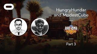 Arizona Sunshine   VR Playthrough - Part 3   Oculus Rift Stream with HungryHundar and ModestCube
