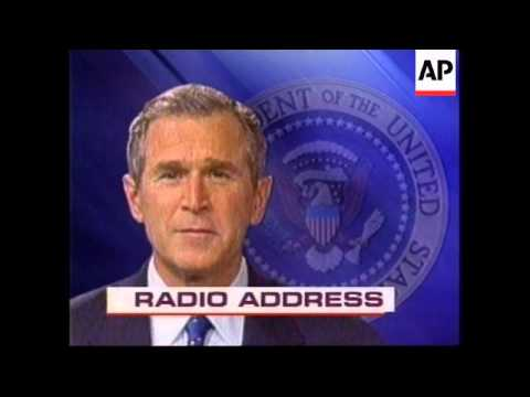 President in multi-lingual radio address