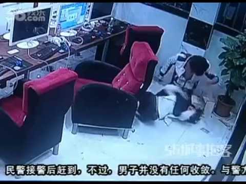 Kekejaman seorang kekasih. Kejadian berlaku di Jiangxi, China