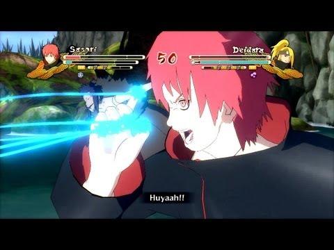 (XBOX 360) Sasori vs Deidara Naruto Ultimate Ninja Storm 3