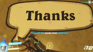 Thanks Genji? - Overwatch Funny Moments 27