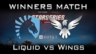 Liquid vs Wings Winners Match Starladder i-League 2017 Highlights Dota 2