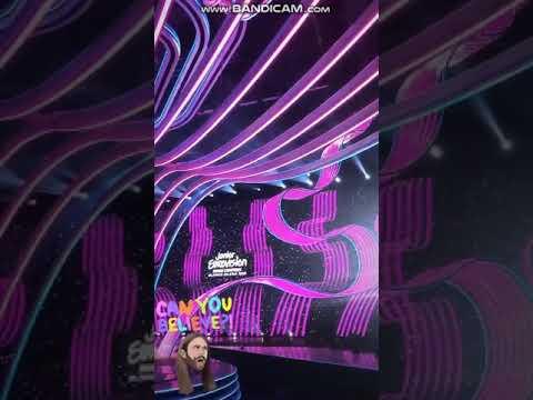 Junior eurovision 2019 - scena juz gotowa ! / stage is ready ! - insta