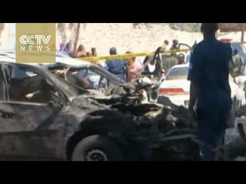 Three killed, five wounded by car bomb in Somalia