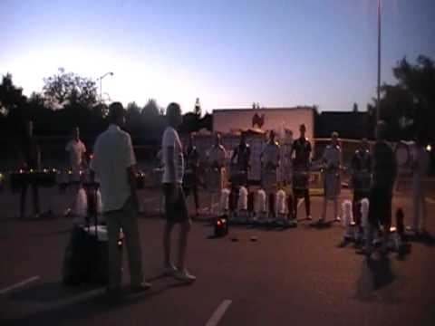 The Cadets Drumline 2011 Accent Tap