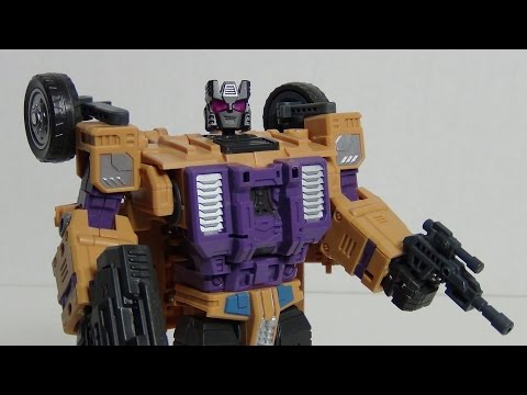 Sly Strike (G1 Swindle) | Warbotron Transformers Third Party Figure Review