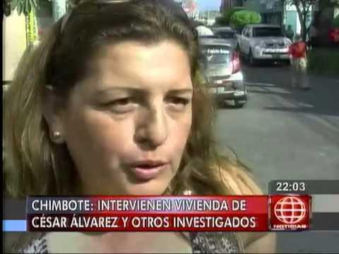 América Noticias - 160514 - Chimbote: intervinieron vivienda de César Álvarez