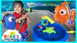 Disney Pixar Finding Dory Swim & Water Table Step 2 Nemo Water Toys for kids Thomas and Friends