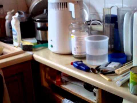 my water distiller was designed to distil water