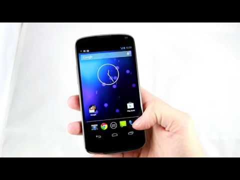 Nexus 4: Kurzes Hands-on-Video vom nächsten Google-Handy