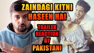 ZINDAGI KITNI HASEEN HAI Official Trailer 2016 | Reaction and Review by Pakistani