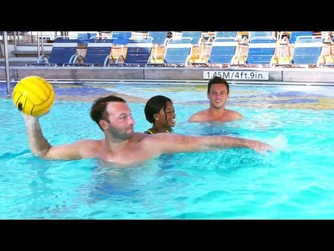 See World Champs Take on Royal Caribbean's Water Polo Challenge