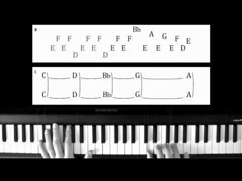 Piano Lesson: Jean Michel Jarre - Rendez-Vous IV / With Tabs