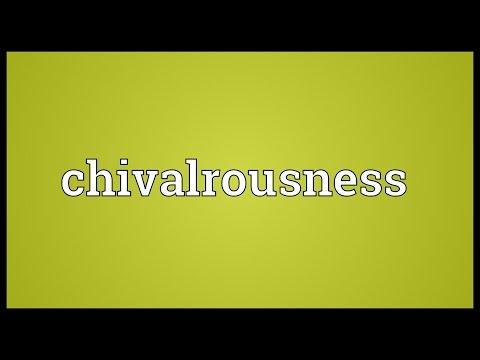 Header of chivalrousness