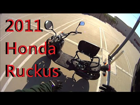 Honda Ruckus 49cc Owner Rant Review