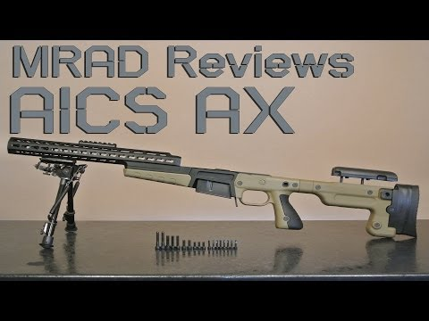 Review: Accuracy International AX Chassis System (AX AICS)