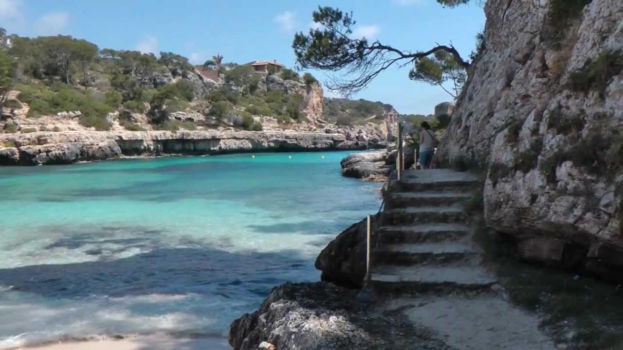 Mallorca - Cala Llombards + Calo des Moro - YouTube