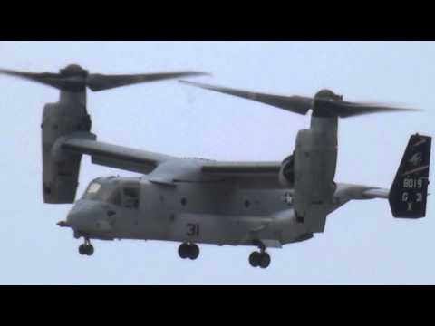 Bell Boeing V-22 Osprey na Oshkosh 2014