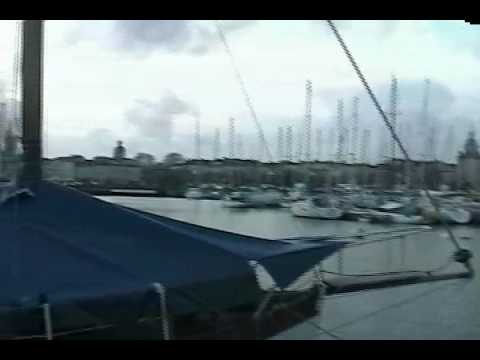 Video tour of the port of La Rochelle, in Charente-Maritime department, France