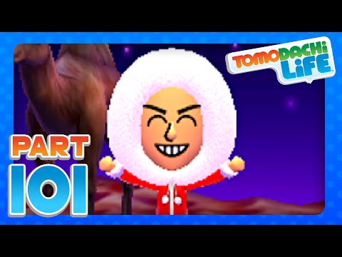 Tomodachi Life - Part 101 - Merry Christmas From Molly Island! (3DS)