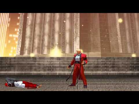 King of Fighters vs Street Fighter 2012 : Final Battle - Kyo vs Iori - vs God Rugal