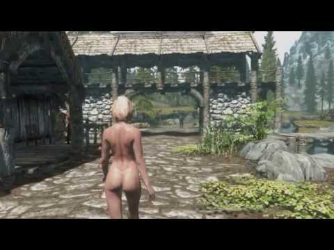 Skyrim Nude Mod and Enhanced Graphics
