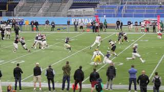 2019 East West Shrine Game: Day 3 - Team-vs-Team 3rd Down (West Team)