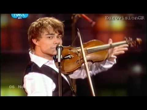 Александр Рыбак - Fairytale (Евровидение 2008)