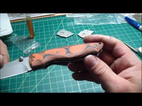 Folding Knife Kit - Build Your Own Custom Folder :)