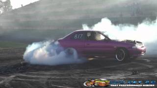WHYNOT LS POWERED EXCEL AT AUSTRALIA DAY WEEKEND BURNOUTS SYDNEY DRAGWAY 2015