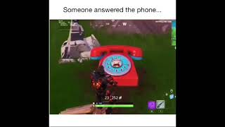 Ninja answers the Pizza Pit phone. Very funny Fortnite meme. Tf you say to me you little. OMG NINJA