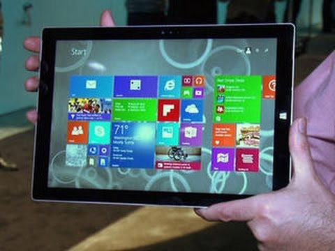 Hands-on with the Microsoft Surface Pro 3