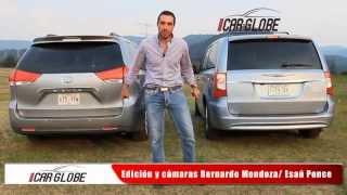 Minivans (Toyota Sienna y Town & Country Tanya Moss) Car-Globe