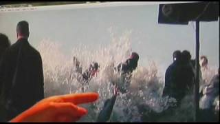News clip on rogue waves slammed crowd at Maverick competition on Feb 13, 2010