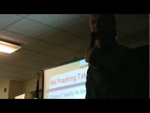 Chip Northrup Speaks on Gas Industry Impacts