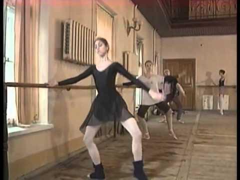 Diana Vishneva Vaganova Academy Part 1