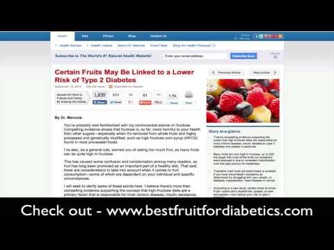 Best Fruit for Diabetics | Best Fruit for Type 2 Diabetes