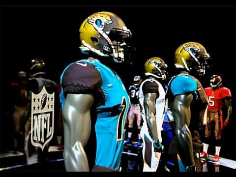 NFL new uniforms and gears
