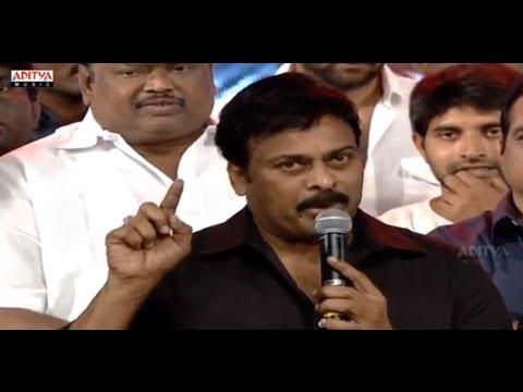 Chiranjeevi Emotional Speech - Govindudu Andarivadele Audio Launch Live - Ram Charan