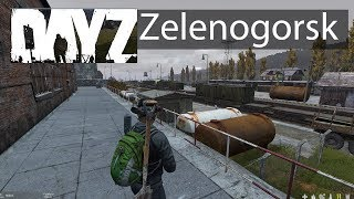 DayZ Xbox One Gameplay Zelenogorsk Guide Military Zone Railroad