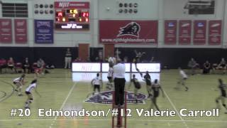 NJIT Women's Volleyball vs. Iona Highlights